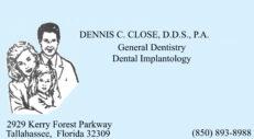 Dr. Dennis Close